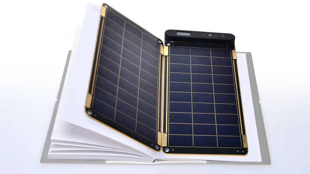 Solar Paper, the world's thinnest and lightest solar charger project video thumbnail