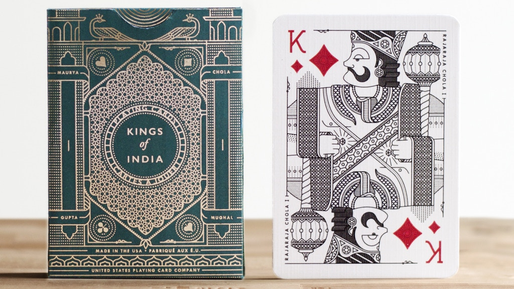 Kings of India Playing Cards project video thumbnail