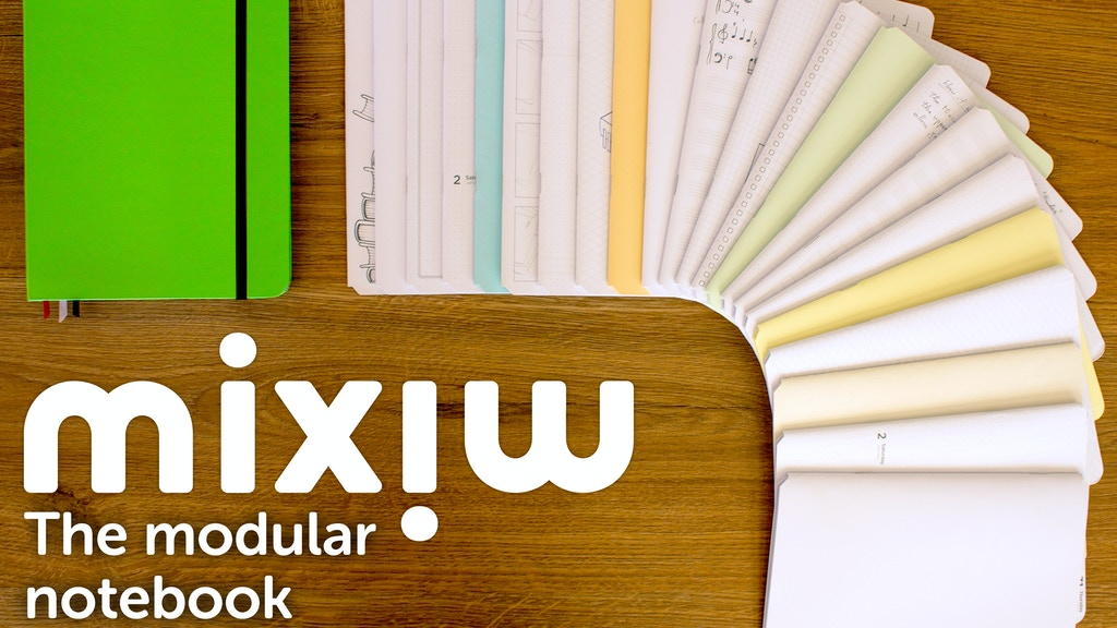 Mixiw: the modular notebook that suits you project video thumbnail