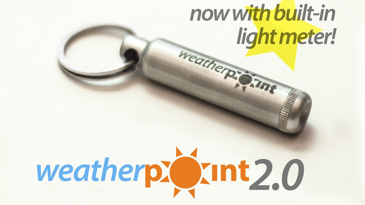 Weather Point is an individual keychain weather station. Measures temperature, humidity, UV, atmospheric pressure on your mobile device