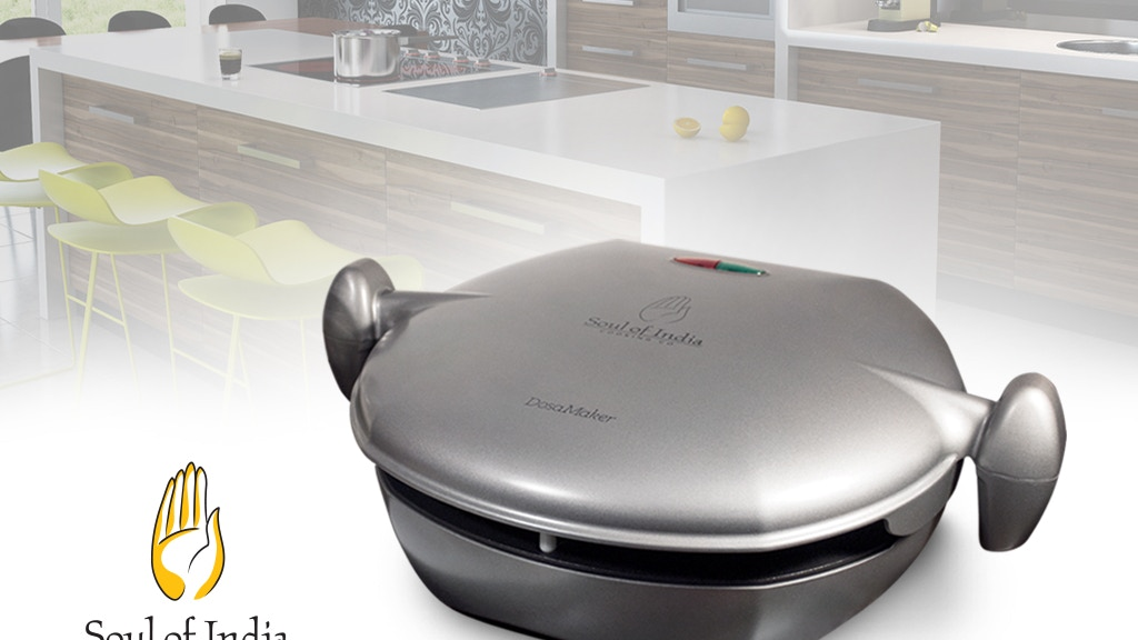 DosaMaker: The World's First Household Dosa Appliance project video thumbnail