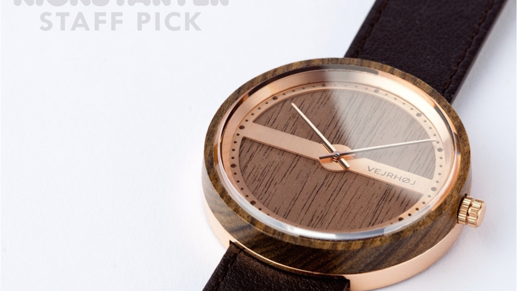 WATCHES CRAFTED FROM WOOD AND STEEL WITH A MARITIME TOUCH project video thumbnail