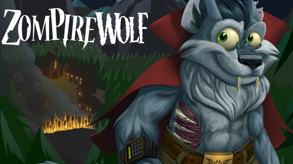ZompireWolf - a Zombie/Vampire/Werewolf hybrid! project video thumbnail