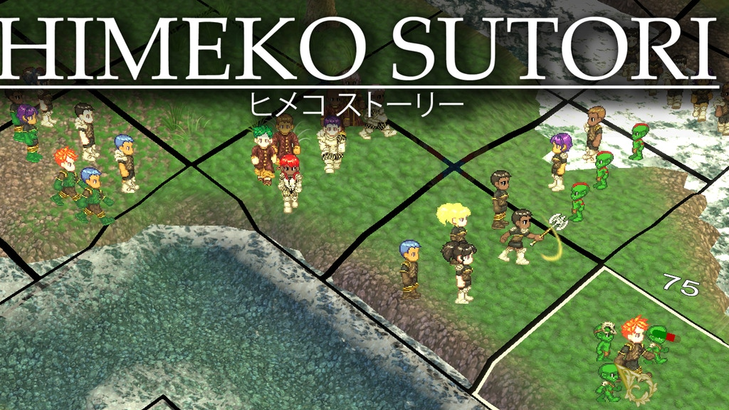 Himeko Sutori: a turn-based, tactical, Japanese-style RPG project video thumbnail