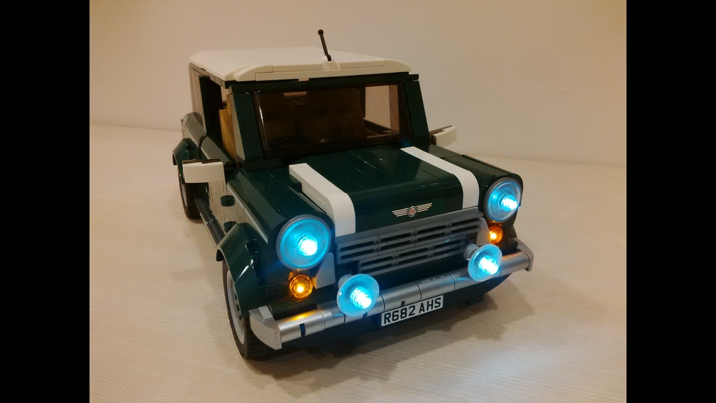 lightup kits for lego creator mini cooper by 3direction. Black Bedroom Furniture Sets. Home Design Ideas