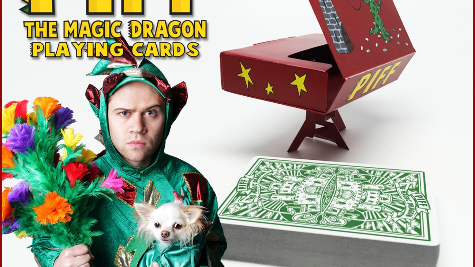 From the Greatest Magic Performing Dragon of All Time, comes the Greatest Deck of Playing Cards...of All Time!