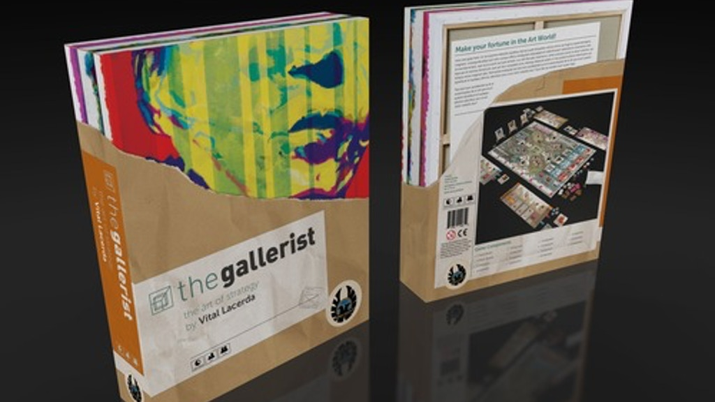The Gallerist, a game by Vital Lacerda. The Art of Strategy! project video thumbnail