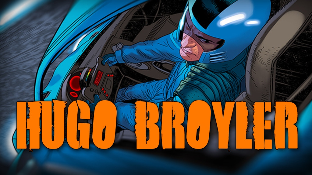 HUGO BROYLER: a high-speed, sci-fi, grindhouse graphic novel project video thumbnail