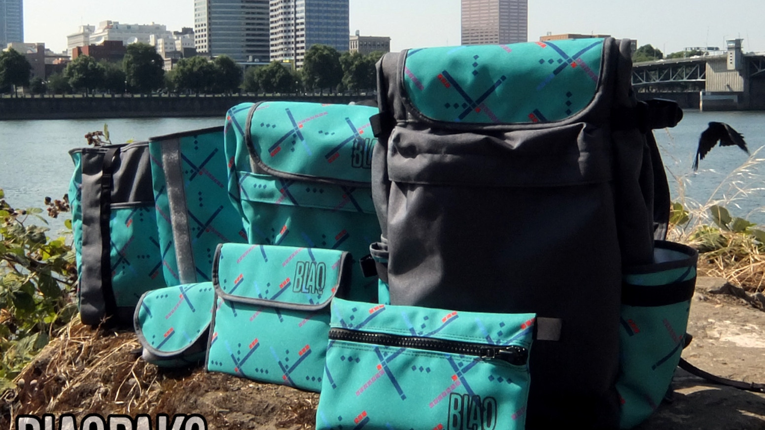 We're landing #PDXCarpet on our guaranteed-for-life, handmade-in-PDX BlaqPaks. Help us bring this custom-printed Cordura to life!
