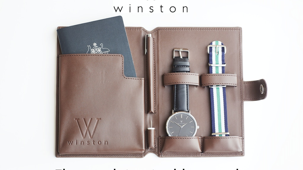 Winston Watches - Inspired by Travel project video thumbnail