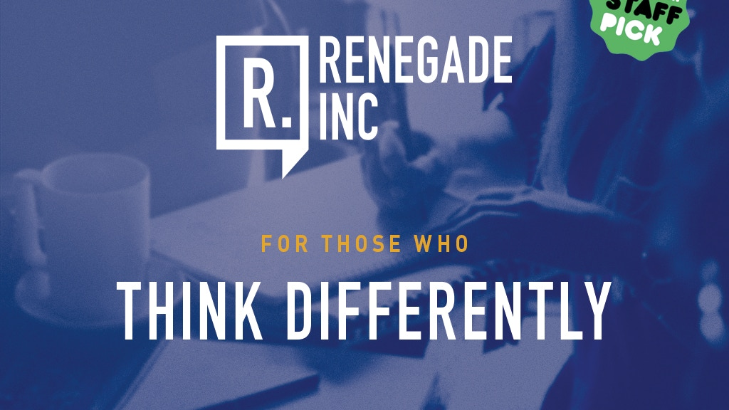 Renegade Inc. project video thumbnail