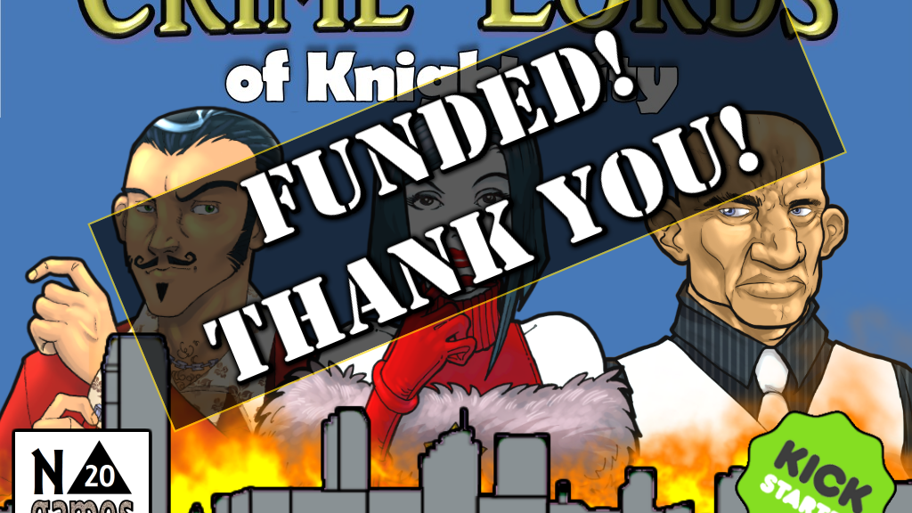 Crime Lords of Knight City project video thumbnail