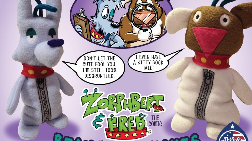 Zorphbert & Fred Bean Bag Plushes project video thumbnail