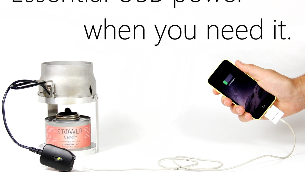 Candle Charger: Emergency Power Generator for Smartphones project video thumbnail