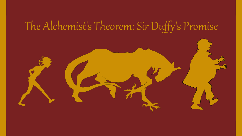 The Alchemist's Theorem: Sir Duffy's Promise (fantasy novel) project video thumbnail