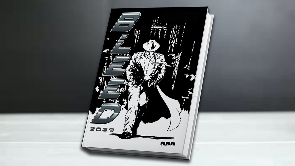 BLEED 2039 - Hardcover Graphic Novel project video thumbnail
