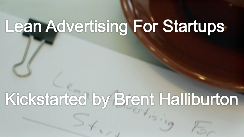 Lean Advertising For Startups project video thumbnail