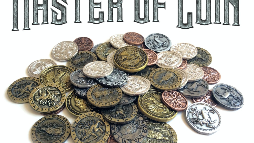Master of Coin: Fantasy Tabletop Coins project video thumbnail