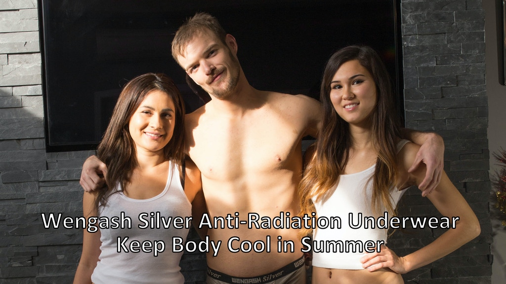 Silver anti-radiation underwear. Keep body cool in summer project video thumbnail