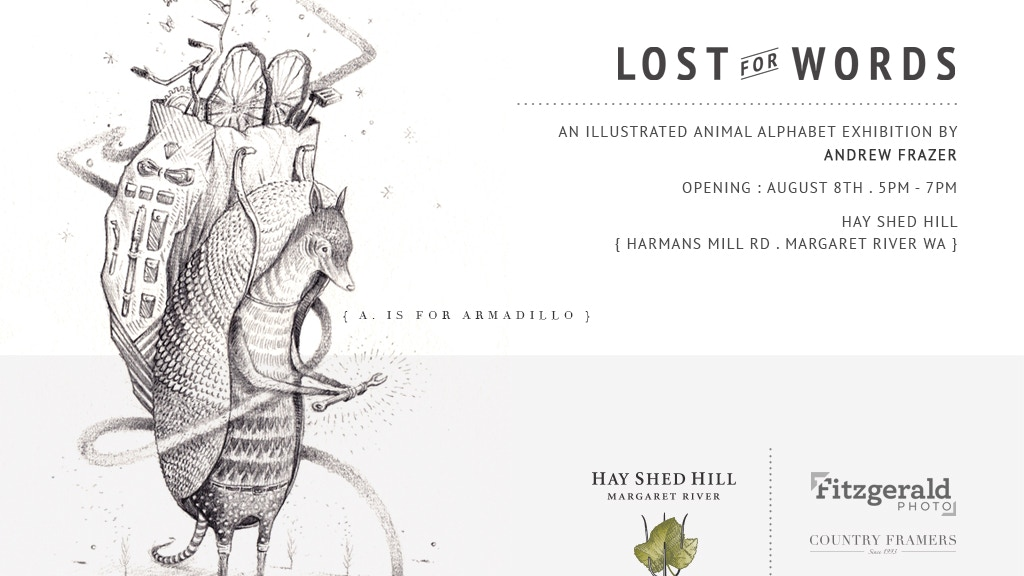 Lost For Words : An exhibition by Andrew Frazer project video thumbnail