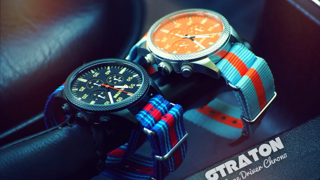 Vintage Driver Chrono by Straton Watch Co. project video thumbnail
