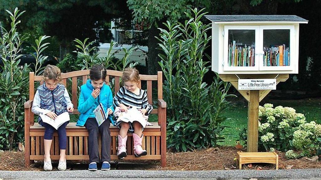Little Free Library in West Jordan. Neighbor Book Exchange ...