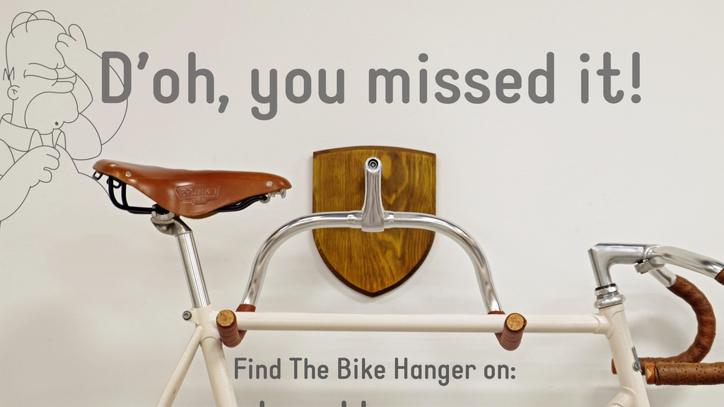 The Bike Hanger - a bicycle mount by KP Cykler project video thumbnail