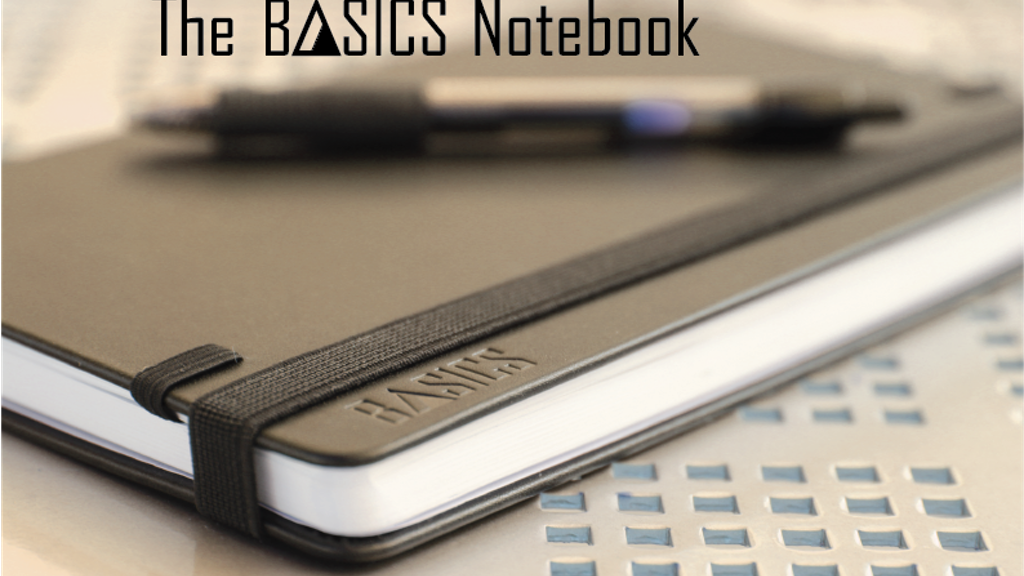 The BASICS Notebook: Simplify and Improve Your Life project video thumbnail