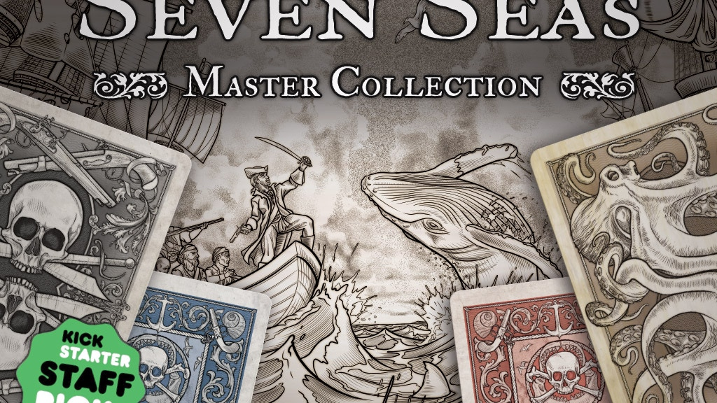 Project image for Seven Seas Master Collection Playing Cards (Canceled)