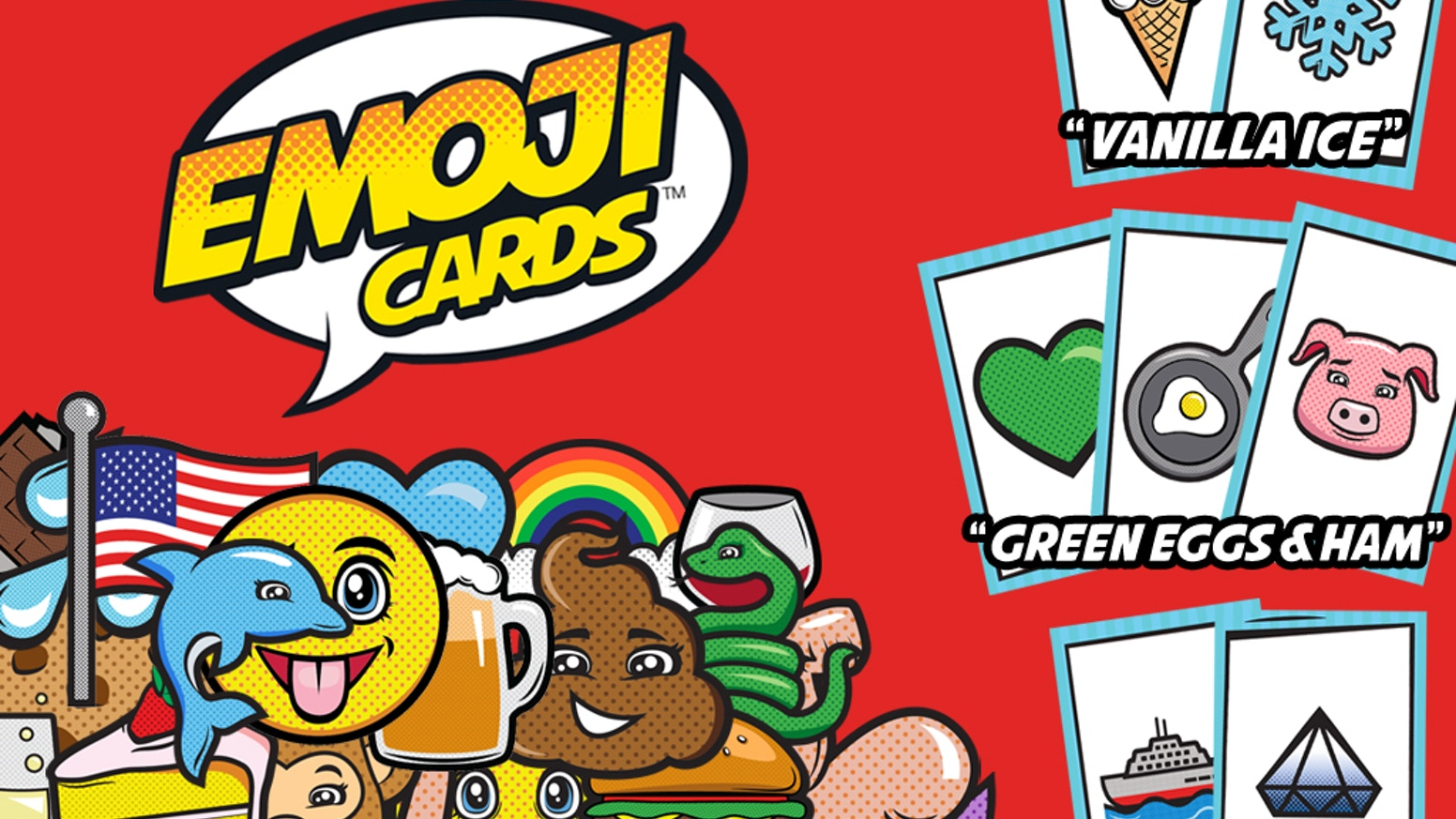 Emoji Cards - Give Pop Culture Clues Using Emoji! by Spicy