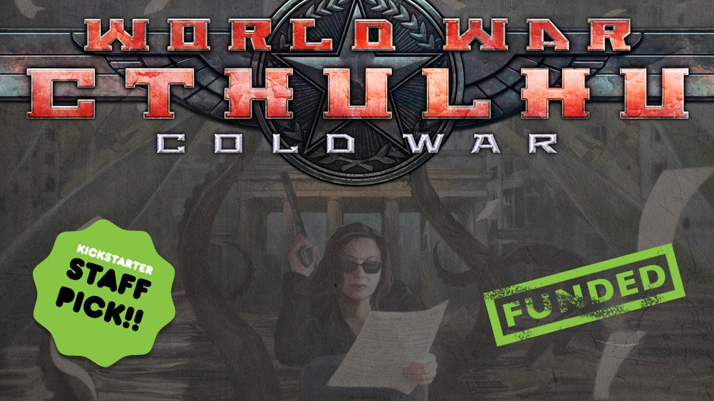 World War Cthulhu: Cold War for the Call of Cthulhu RPG project video thumbnail