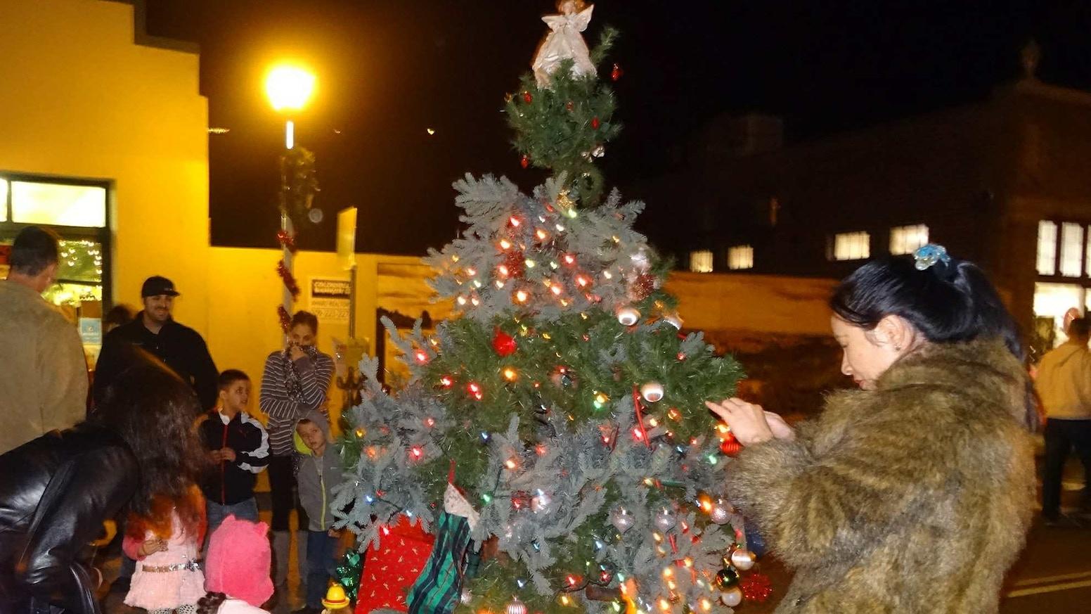 The Christmas Tree Hugger By James Telfer