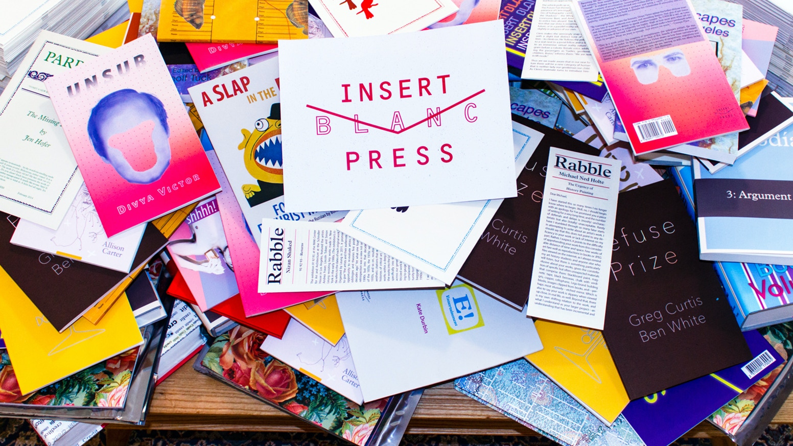 Insert Blanc Press produces Innovative Art & Literature in L.A. & Dynamic Conversations among Emerging Artists & Artistic Disciplines.