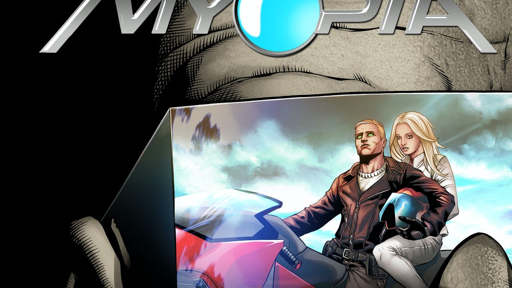 MYOPIA - A Science Fiction Comic Book and Graphic Novel project video thumbnail