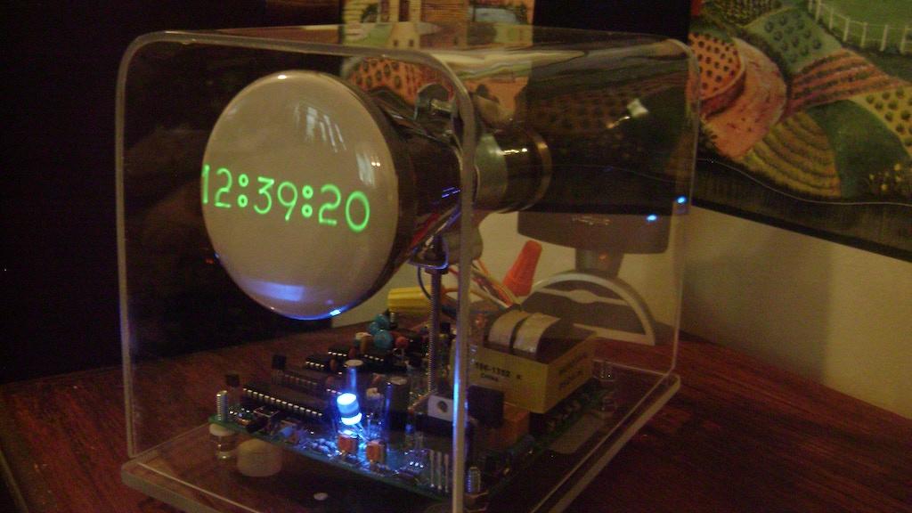 The Oscilloscope Clock III Analog Version project video thumbnail