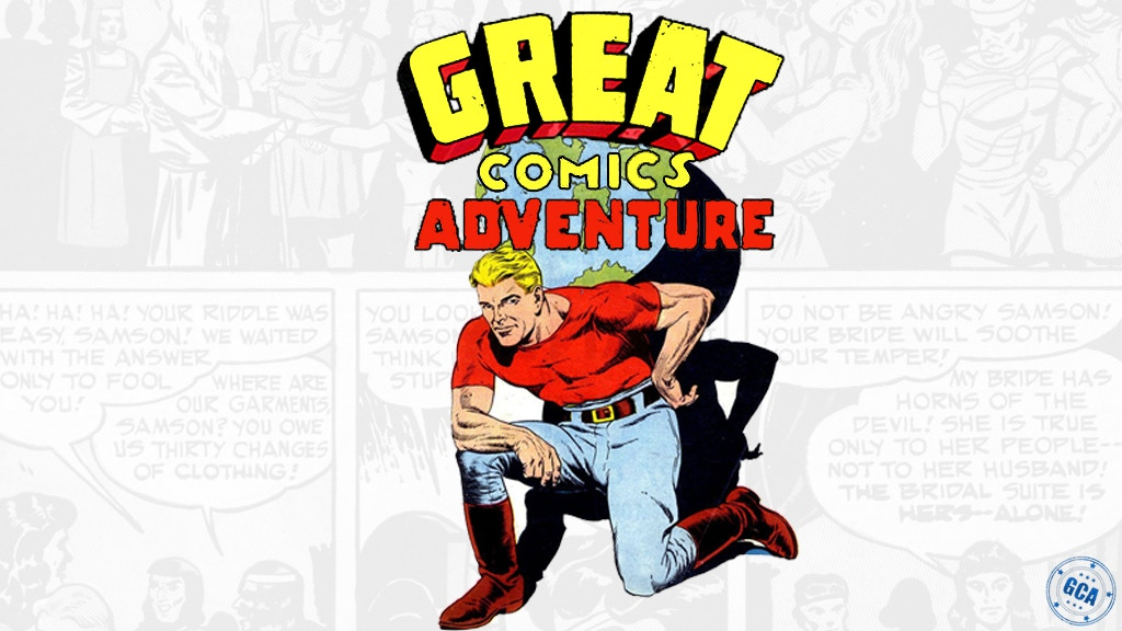 Great Comics Adventure: Golden Age of Super Heroes project video thumbnail