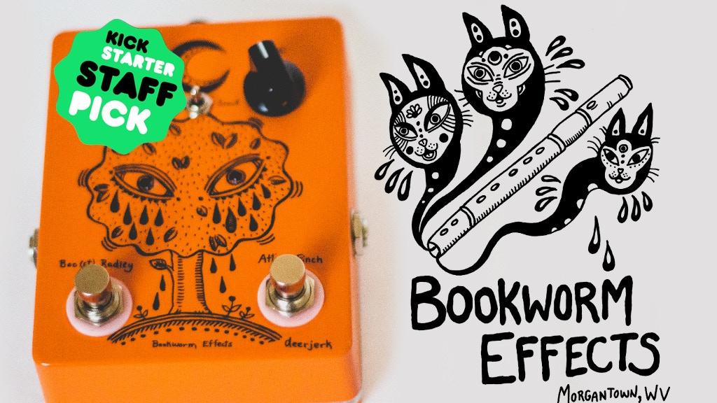 bookworm effects guitar pedals by brian spragg kickstarter. Black Bedroom Furniture Sets. Home Design Ideas
