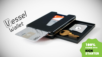 Vessel: The easy access wallet with a protective compartment