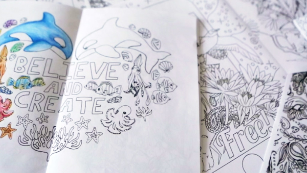 La Land Creative Mindful Colouring Books For Adults Project Video Thumbnail