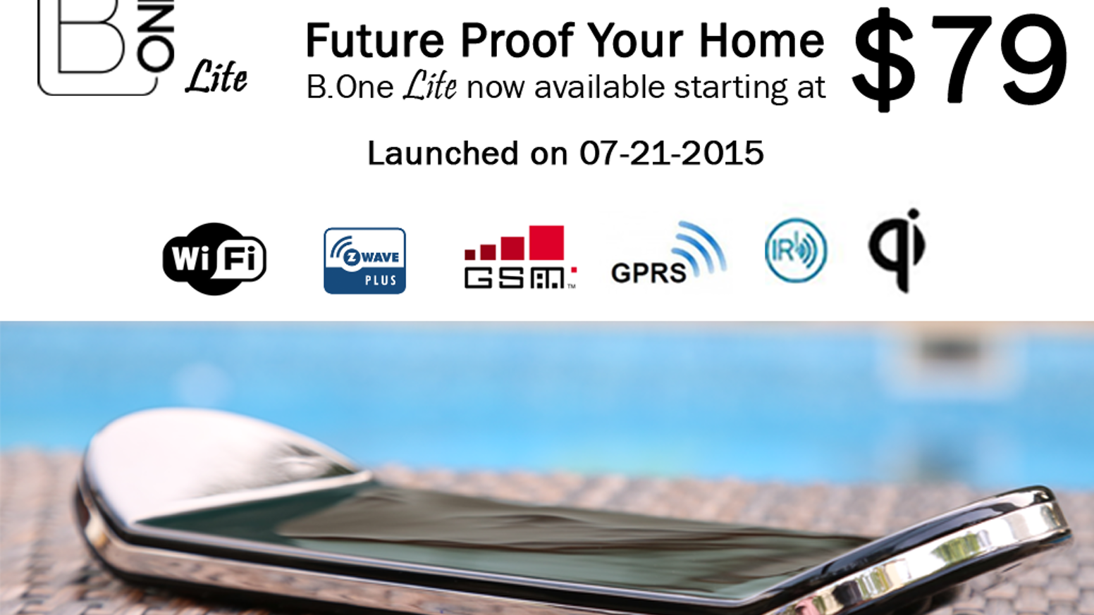 Future Proof your home with B.One Smart HUB