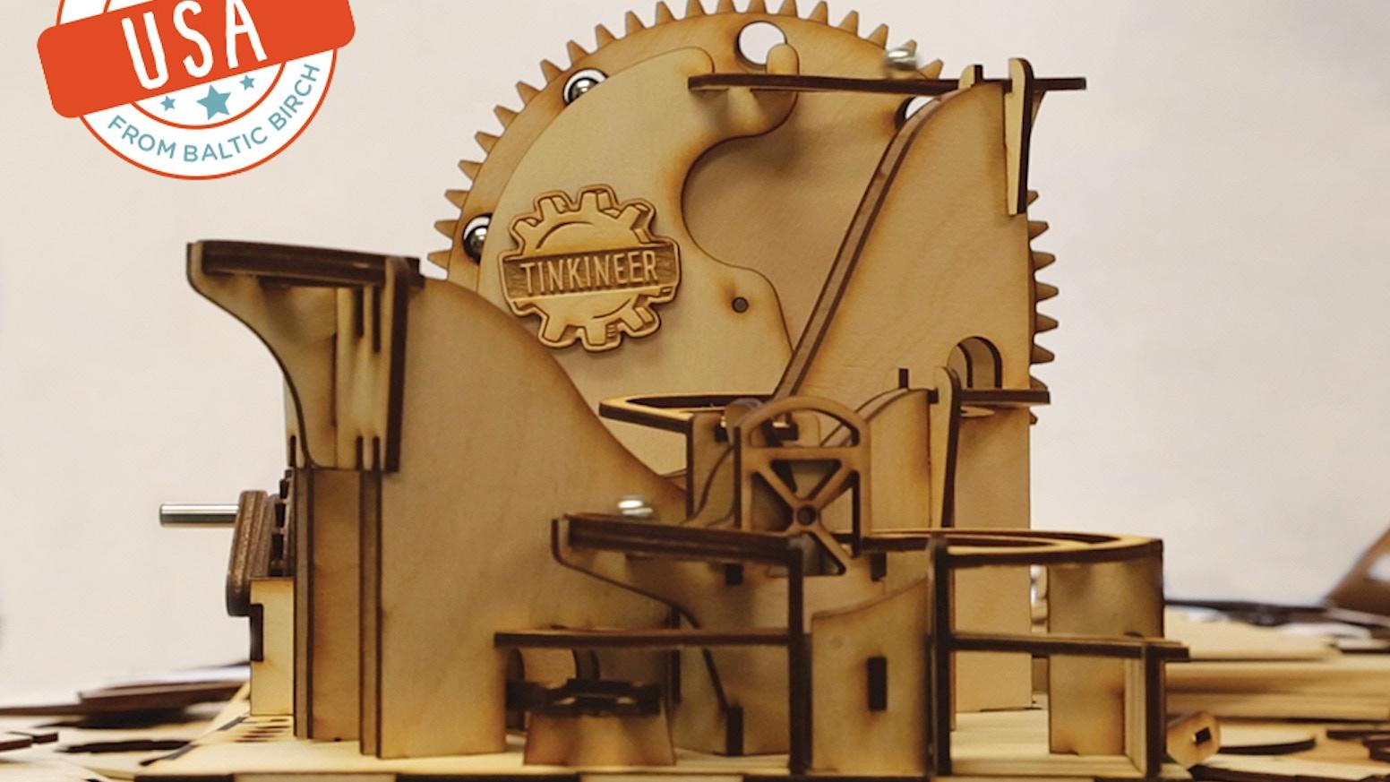 Marbleocity Marble Machine Kit A Stem Maker Experience