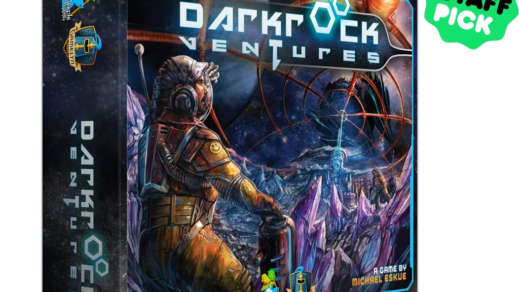 Darkrock Ventures - Asteroid Mining in Deep Space Board Game project video thumbnail