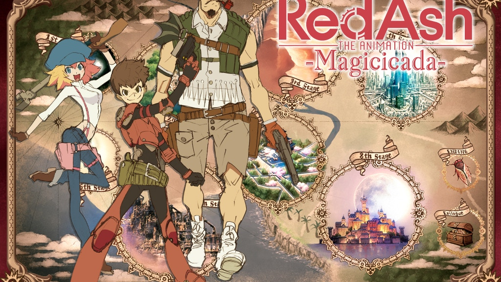 Red Ash -Magicicada- by STUDIO4℃ project video thumbnail