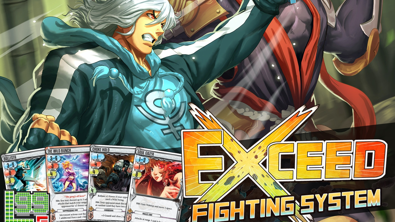 A new 2-player fighting card game with a focus on instinct, evaluation, and quick play, featuring an ever-growing cast of fighters!