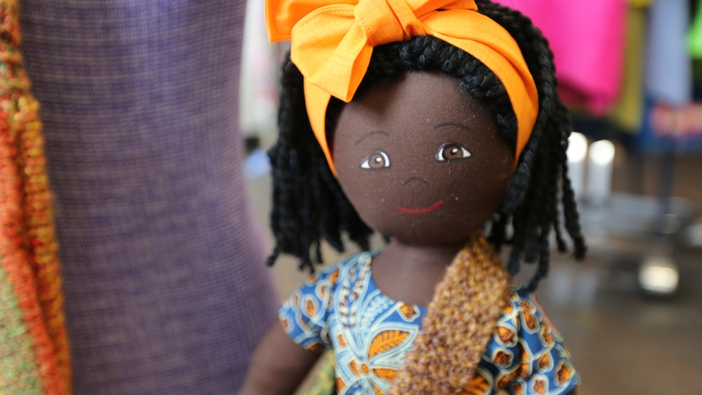 Nomi: A Handcrafted Refugee Friend Doll for Every Girl project video thumbnail