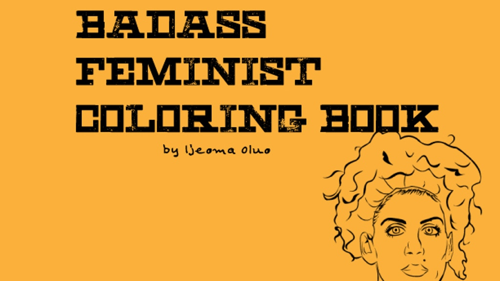 Badass Feminist Coloring Book project video thumbnail