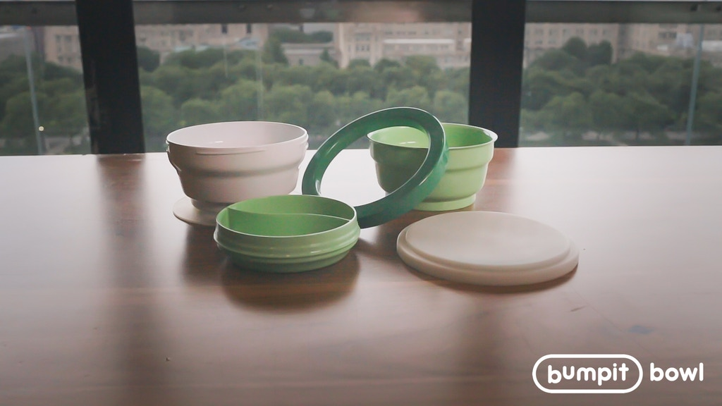 Bumpit Bowl: The Bowl You Won't Knock Over project video thumbnail