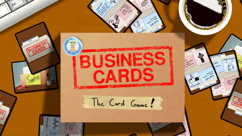 Business Cards: The Card Game! project video thumbnail