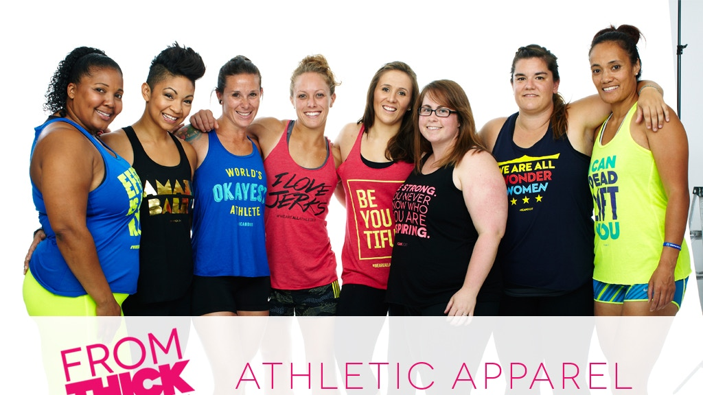 Thick to Thin: First Athletic Apparel Company for everyBODY! project video thumbnail