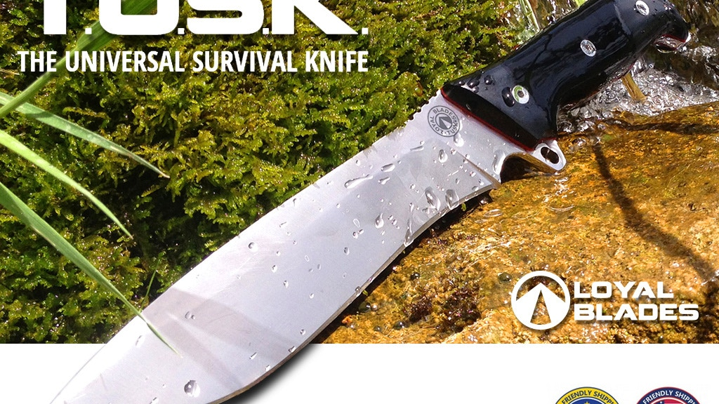 TUSK - The Universal Survival Knife by Loyal Blades project video thumbnail